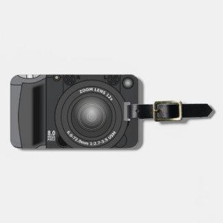 Étiquette À Bagage Appareil photo numérique