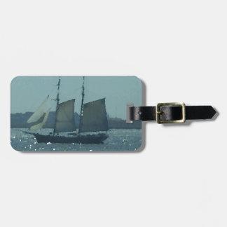 Étiquette À Bagage Art CricketDiane de navire de navigation de bateau