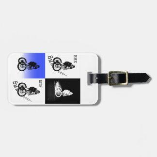 Étiquette À Bagage Autocollants de CYCLISTE du cycliste MTB BMX de