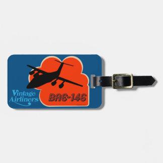 Étiquette À Bagage Avion de ligne britannique classique