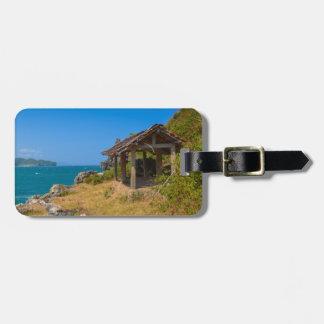 Étiquette À Bagage Belvédère sur une falaise