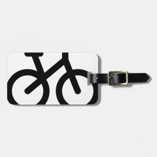 Étiquette À Bagage Bicyclette simple