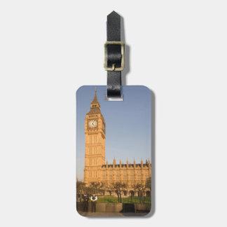 Étiquette À Bagage Big Ben en photo de souvenir de Londres