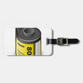 Étiquette À Bagage Boîte métallique de film