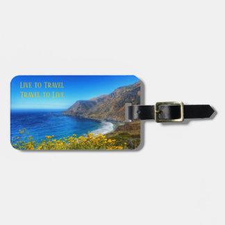 Étiquette À Bagage Bord de la mer 2 de voyage