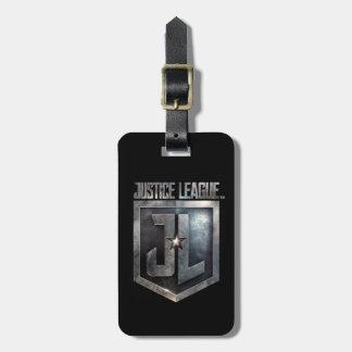 Étiquette À Bagage Bouclier métallique de la ligue de justice | JL