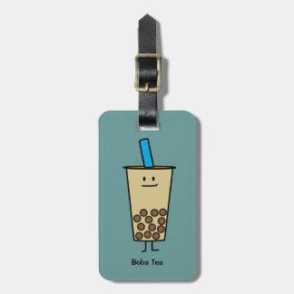 Étiquette À Bagage Boules de tapioca de thé de lait de perle de Boba