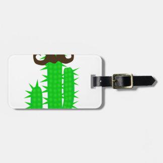 Étiquette À Bagage cactus
