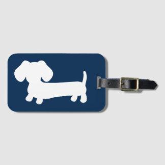 Étiquette À Bagage Cadeau d'étiquette de sac de bagage de chien de