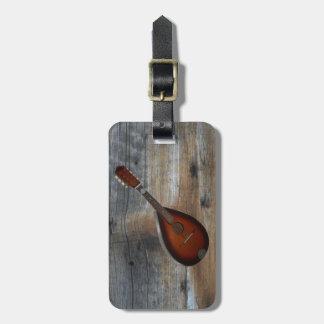 Étiquette À Bagage ~ cc BY-SA 3,0 d'arrière - plan de la mandoline
