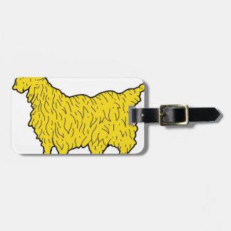 Étiquette À Bagage chèvre