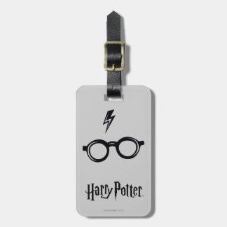 Étiquette À Bagage Cicatrice et verres de foudre du charme   de Harry
