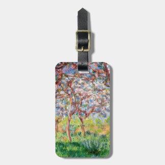 Étiquette À Bagage Claude Monet   Printemps un Giverny