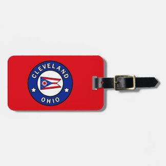 Étiquette À Bagage Cleveland Ohio