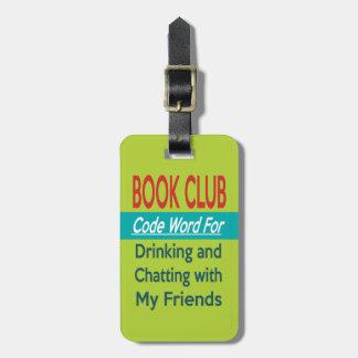Étiquette À Bagage Club de lecture - codez le mot