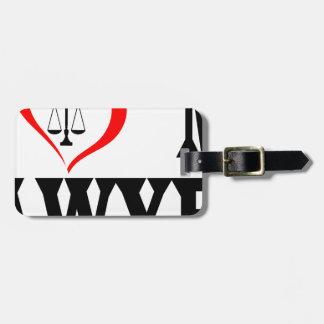 Étiquette À Bagage Coeur I mon avocat