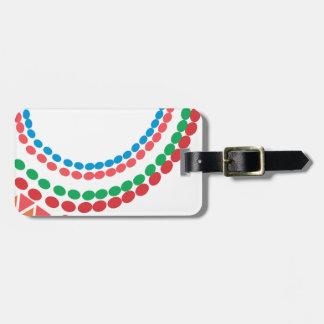 Étiquette À Bagage Collier de Maasai