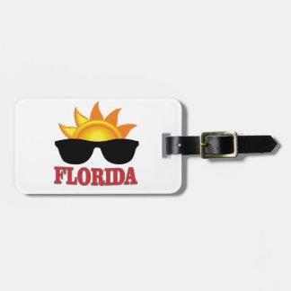 Étiquette À Bagage Cool de la Floride