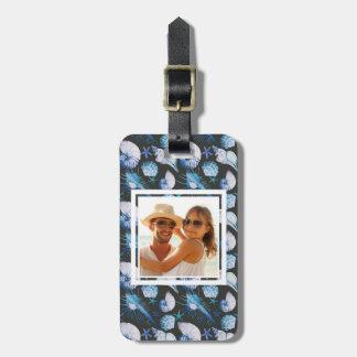 Étiquette À Bagage Coraux faits sur commande de photo avec le motif