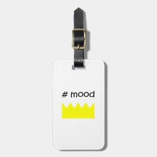 Étiquette À Bagage Couronne - humeur - reine - roi