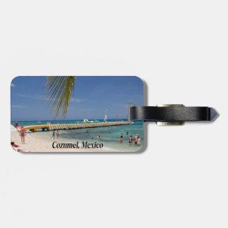 Étiquette À Bagage Cozumel Mexique