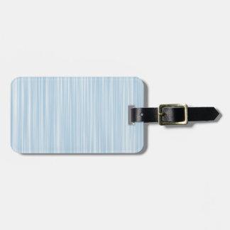 Étiquette À Bagage Créez propre aquarelle personnalisée de bleu du