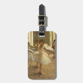 Étiquette À Bagage Danseur classique par Edgar Degas