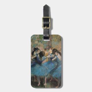 Étiquette À Bagage Danseurs d'Edgar Degas | dans le bleu, 1890