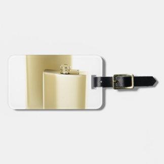 Étiquette À Bagage Deux flacons d'or de hanche