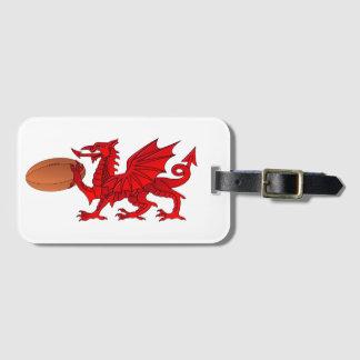 Étiquette À Bagage Dragon de Gallois avec une étiquette de bagage de