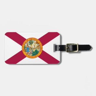Étiquette À Bagage Drapeau de la Floride