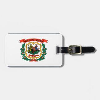 Étiquette À Bagage Drapeau de la Virginie Occidentale