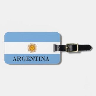 Étiquette À Bagage Drapeau de l'Argentine