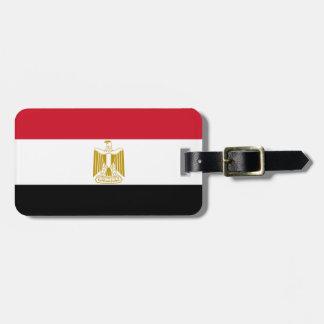 Étiquette À Bagage Drapeau de l'Egypte