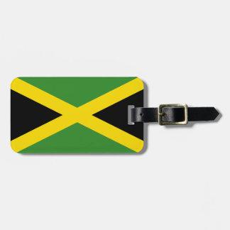 Étiquette À Bagage Drapeau de l'identification facile de la Jamaïque
