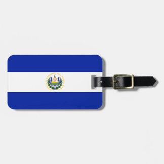 Étiquette À Bagage Drapeau de l'identification facile du Salvador