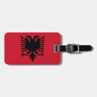 Étiquette À Bagage Drapeau d'identification facile de l'Albanie