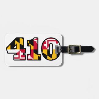 Étiquette À Bagage Drapeau du Maryland - 410