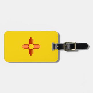 Étiquette À Bagage Drapeau du Nouveau Mexique
