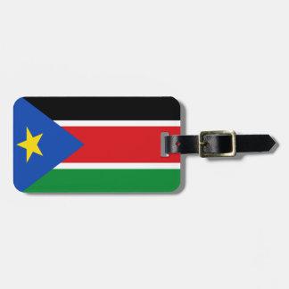 Étiquette À Bagage Drapeau du sud du Soudan
