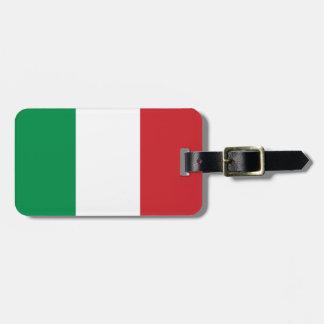 Étiquette À Bagage Drapeau italien