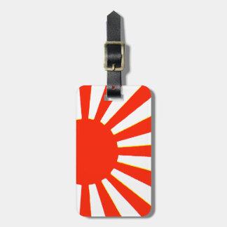 Étiquette À Bagage Drapeau japonais