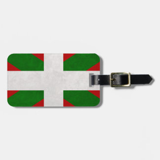Étiquette À Bagage Drapeau Pays Basque Euskadi