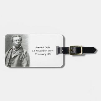 Étiquette À Bagage Edmond Dédé