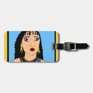 Étiquette À Bagage Égyptien