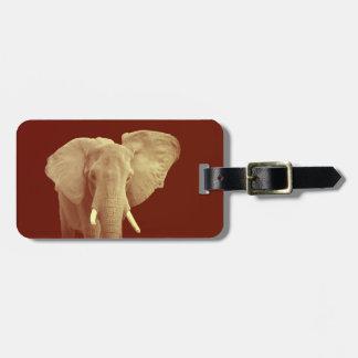 Étiquette À Bagage Éléphant africain - étiquette de bagage d'adresse