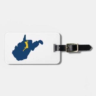 Étiquette À Bagage Escalade de la Virginie Occidentale