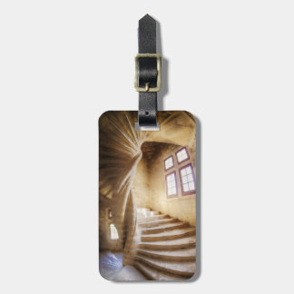 Étiquette À Bagage Escalier beige de spirl, France