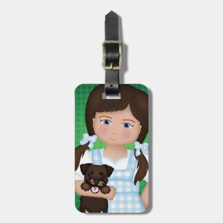 Étiquette À Bagage Et votre petit chien aussi !  Dorothy