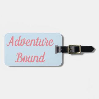 Étiquette À Bagage Étiquette attachée de bagage d'aventure